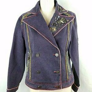 Moto Denim Jacket